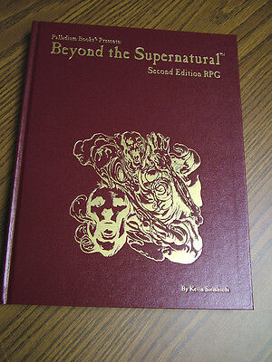 Beyond the Supernatural, 2nd Edition Hardcover -- #73 0f 500  -- 8 sig.s