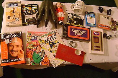 Vintage to Now Junk Drawer-MIXED LOT- in LARGE Flat Rate Box Miscellaneous  #6
