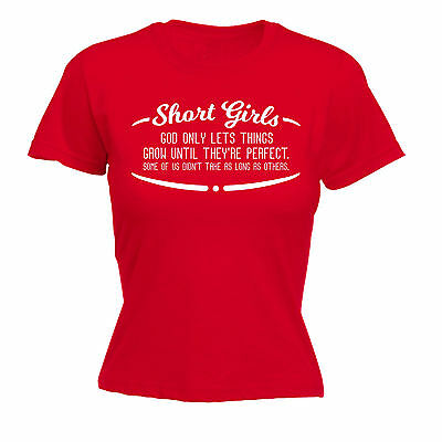 SHORT GIRLS PERFECT WOMENS T-SHIRT sister mum funny mothers day gift 123t