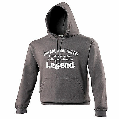 I DONT REMEMBER EATING A LEGEND HOODIE hoody awesome funny birthday gift 123t