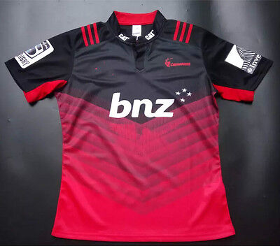 New Zealand Rugby Crusaders clothes 2016-17 Rugby Jersey Shirt Tops Quality