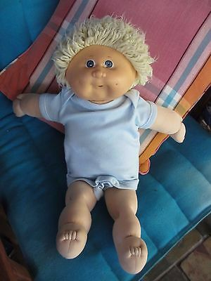 Vintage 1980s Cabbage Patch Kid,Blonde hair good condition,dimples