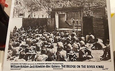 The Bridge On The River Kwai Alec Guinness Signed Film Still Photo Autograph Coa