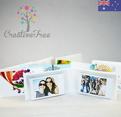 Pocket Size Photo Album holds 24 INSTAX MINI 8 50s 70 90 & Polaroid 300 pictures