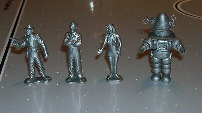 FORBIDDEN PLANET Figures ROBBY THE ROBOT Marx Style Playset Altaira,Morbius