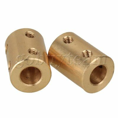 2 x 5mm To 8mm Shaft Coupling Rigid Coupling Coupler Motor Connector Spanner
