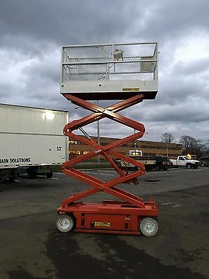 2002 Snorkel Sl20 Scissorlift 20' Deck Hgt,26'  Work Hgt , Fully Operational  Hd