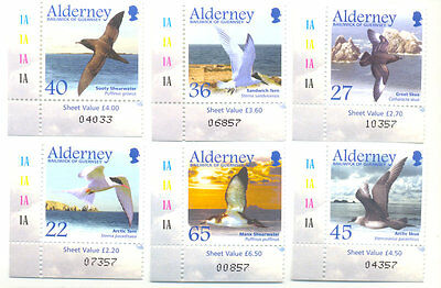 Alderney-Seabirds-mnh-2003 set