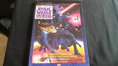 The Art of Star Wars Galaxy by Gary Gerani (1993, Paperback) Star Wars