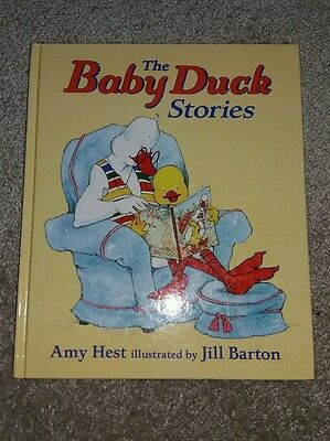 the baby duck stories hardback childrens book collection Amy Hest xmas gift