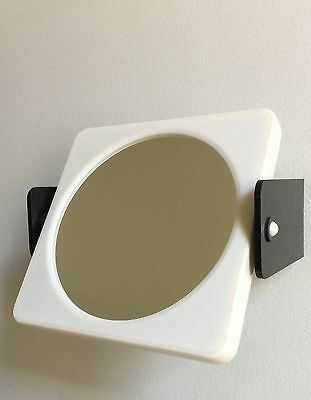 Vintage 70s Mirror Wall Mounted 2 Sided Cosmetic Shaving magnifying $25 Free P/H