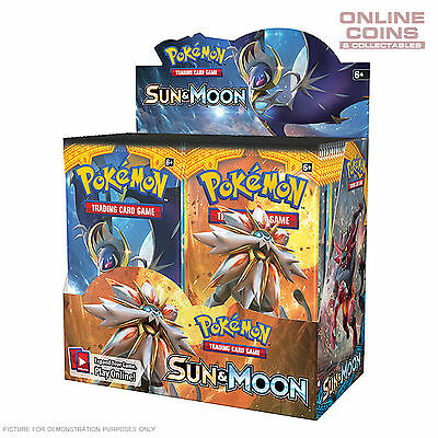 POKEMON TCG - Sun & Moon Boosters -  4 x10 Card Booster Packs 40 CARDS IN TOTAL