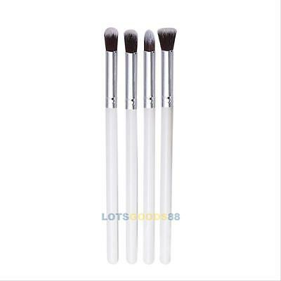 Pro 4Pcs Makeup Cosmetic Tool Powder Foundation Eyeshadow Blending Brush Set LS