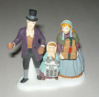 "Dept 56 Dickens Village ""a Christmas Carol Reading"" Single Figure #58403"
