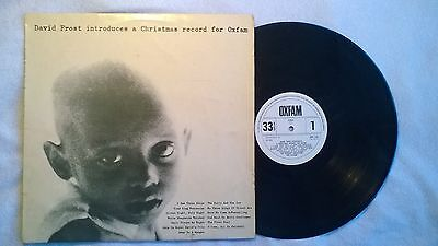 *RARE* DAVID FROST 'A CHRISTMAS RECORD FOR OXFAM'- Gregory Orchestra & Chorus-LP