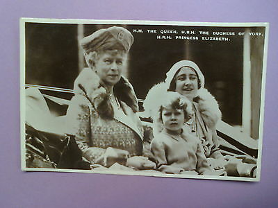 Queen Mary, The Duchess Of York And Princess Elizabeth