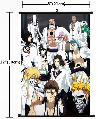HOT Japan Anime Bleach Wall Poster Scroll Home Decor Cosplay 1498