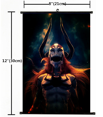 HOT Japan Anime Bleach Wall Poster Scroll Home Decor Cosplay 1507
