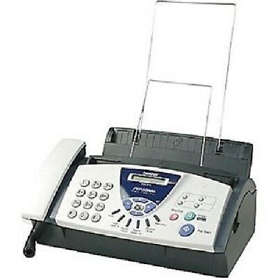 Brother FAX-575 Fax Machine Caller ID Personal Plain Paper Fax Phone & Copier