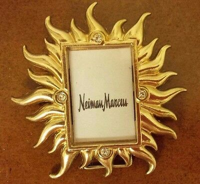 JAY STRONGWATER Mini Sun Rays Goldtone Picture Frame