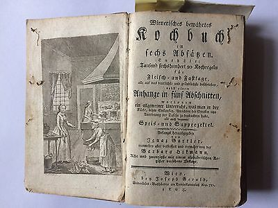 German antique cookery book