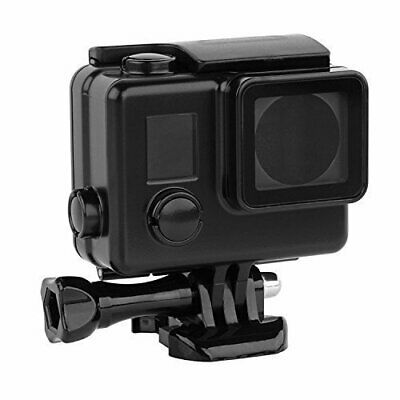 Black Housing for GoPro HERO3/HERO3+/HERO4 cameras | Waterproof to 40 Metres