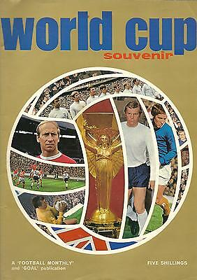 World Cup 1970 brochure issued by ''Football Monthly''  magazine