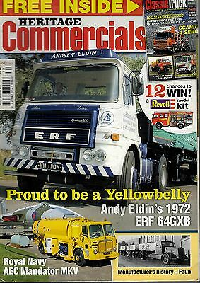 2012 DEC 56366 Heritage Commercials Mag YELLOWBELLY ANDY ELDINS 1972 ERF 64GXB