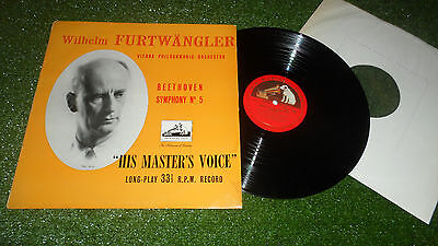 ALP 1195 BEETHOVEN FURTWANGLER 'SYMPHONY No. 5' HMV 1950s MONO ONLY ISSUE