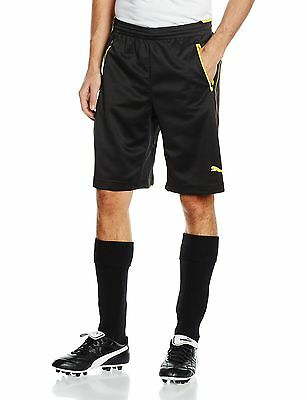 PUMA Men's Borussia Dortmund Training Shorts Black - black Large