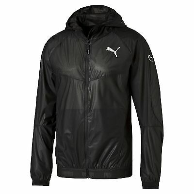 Puma Unisex Active Storm Running Jacket Puma Black Large