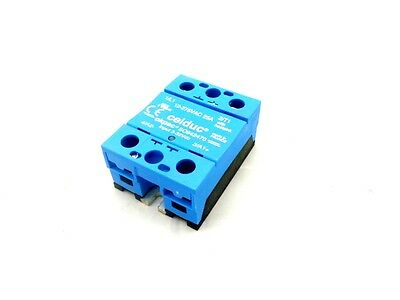 4 Of Celduc So942470 Okpac Solid State Relay - 12-275Vac 25A