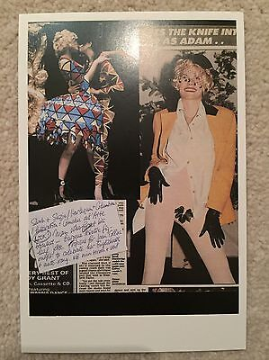 Vivienne Westwood V&A Museum Postcard Advertising Promotional Collectors
