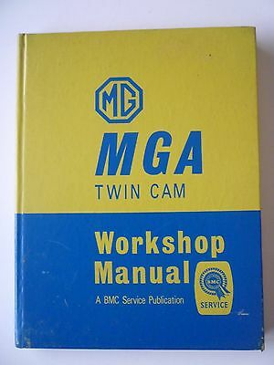 MGA Twin Cam Workshop Manual - 1958