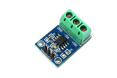 LC Technology MAX471 3 - 36V DC Current Sensor Module Flux Workshop