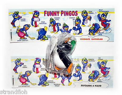 Funny Pingos  EU 1992  -  Tommy Tumble mit BPZ in OVP