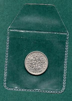 1962 Lucky  Sixpence coin Wedding Favours Birthdays gift Keep Sake