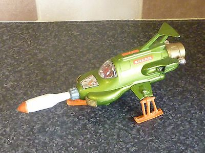 DINKY TOYS No.351 SHADO UFO INTERCEPTOR WITH MISSILE WORKING VGC FOR AGE
