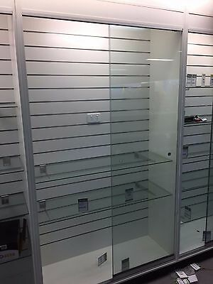 Glass Display Cabinets / L-Shaped Service Counter