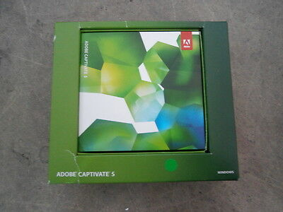 Adobe Captivate 5 Windows Full Version With Licence including. VAT + Delivery !