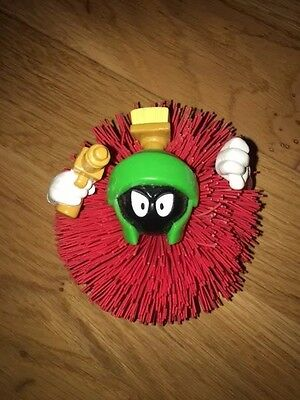Warner Brothers:::looney Tunes:::marvin The Martian:::elastic Ball / Pompom Toy