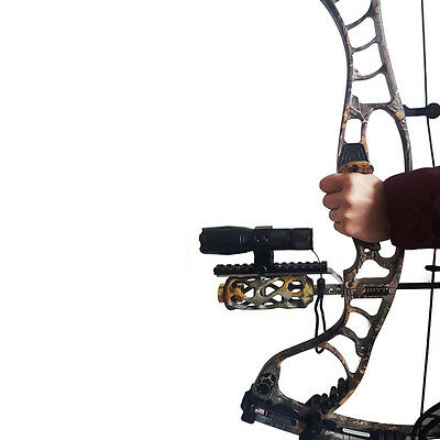 Compound bow Barrel Mount Holder Stand for Laser Sight & Flashlight Torch Part