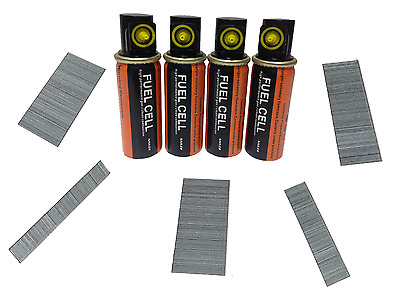 Brad Nails Pack 5000+4 fuel cells 18G EG(15mm-50mm) Paslode & others Compatible