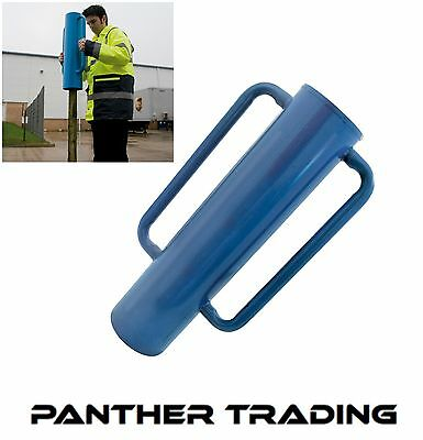 Silverline Steel Fencing Post Driver Rammer Wooden Post Driver 15Kg - 749248