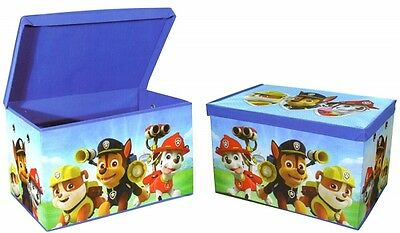 Paw Patrol Clothes Toy Room Tidy Bag Folding Chest Storage Box
