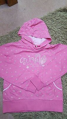 Girls Animal hoodie size M age 11-12