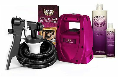 Spray Tan Machine Crazy Angel Petite with  Free  Fake Tanning Solution