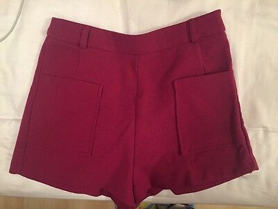 Forever 21 Pink High Waisted Shorts Size S