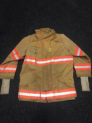SECURITEX Firefighter Turnout Coat Jacket -Kevlar Nomex Aramid  - LARGE - 2001