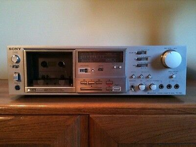 Sony TC- K81 Vintage Cassette Deck 3 Feerite Head Perfect Condition Sound Record